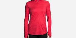 BROOKS WOMEN'S DASH 1/2-ZIP PULLOVER
