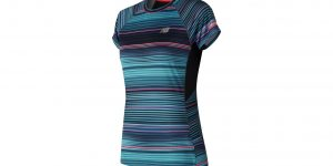 NEW BALANCE WOMEN'S PRINTED ICE 2.0 SHORT SLEEVE